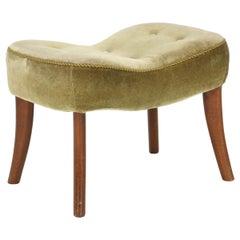 """Madsen & Schubell, Ottoman/Footstool, Model """"Pragh"""""""