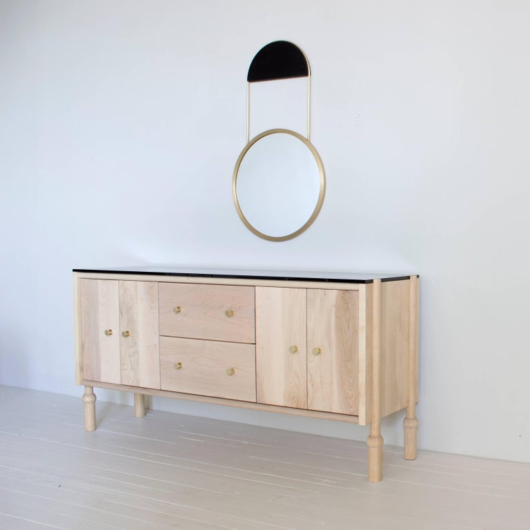 Contemporary Mae Credenza and Sideboard For Sale
