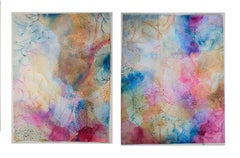 Large watercolor diptych - Joy and Gratitude I and II (unframed)