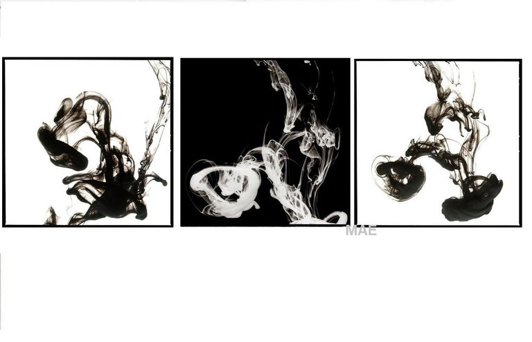 Art Photography - Fluid Rings of Sultry I (56 x 56