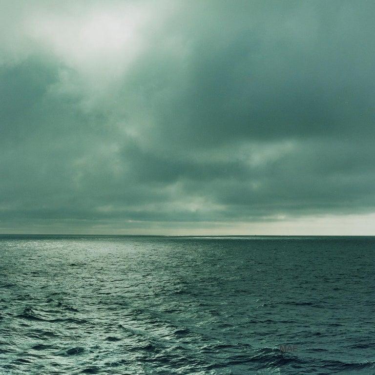 MAE Curates Landscape Photograph - Atlantic Ocean Series - art photography -  (Edn of 20) Swirl #9