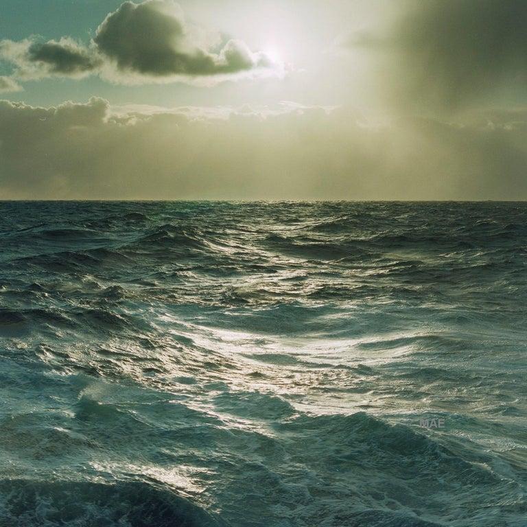 MAE Curates Landscape Photograph - Atlantic Ocean series - Light #8 (Edn of 20) - landscape water sky nature