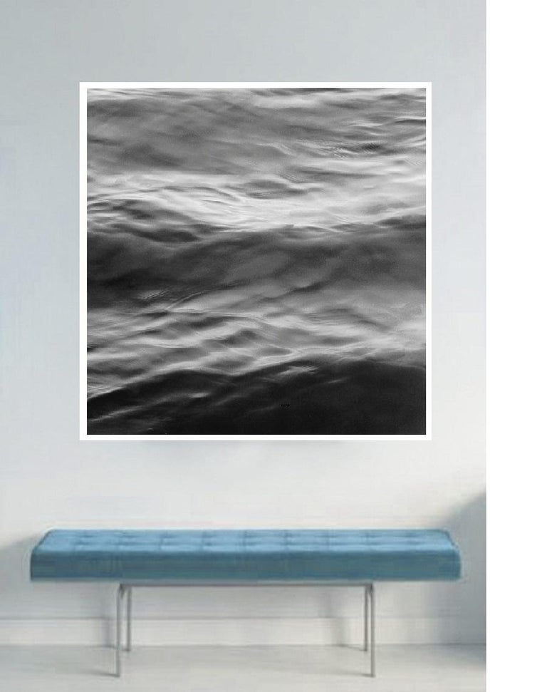 Black and white contemporary photo on Water, Ocean - silver gelatin print n. 2C - Photograph by MAE Curates