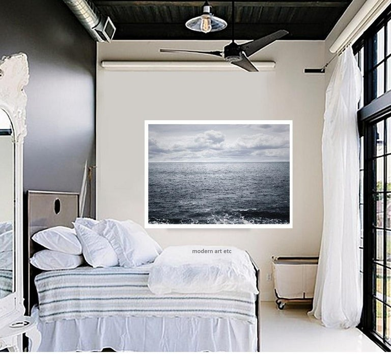 Black and white contemporary photo on Water, Ocean - silver gelatin print n. 2C For Sale 3
