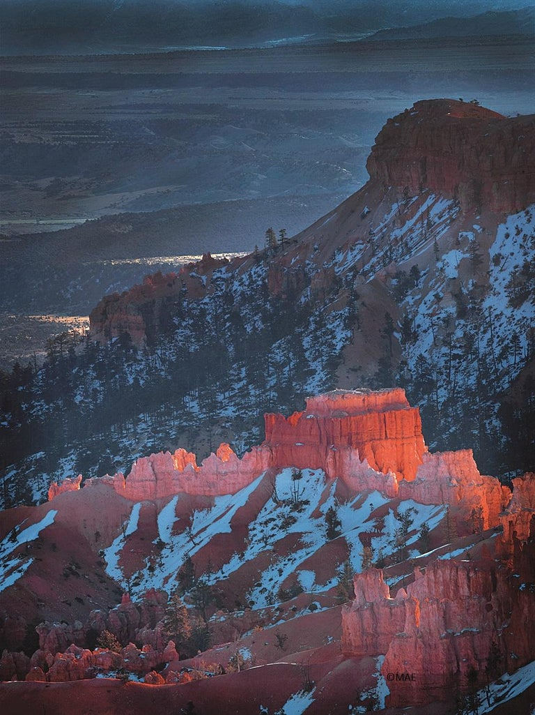 """MAE Curates Landscape Photograph - Color Photography of American landscape series - """"Bryce Canyon"""" n.1"""