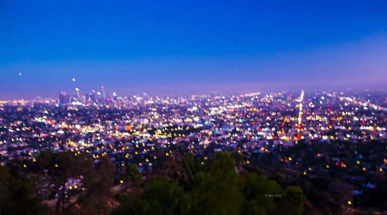 MAE Curates. Los Angeles landscape ... - MAE Curates - Los Angeles Landscape 1 - Large Landscape Photography