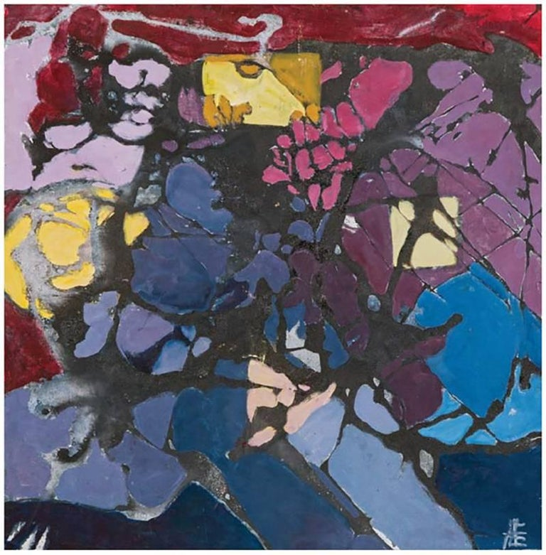 Untitled (Landscape series purple)