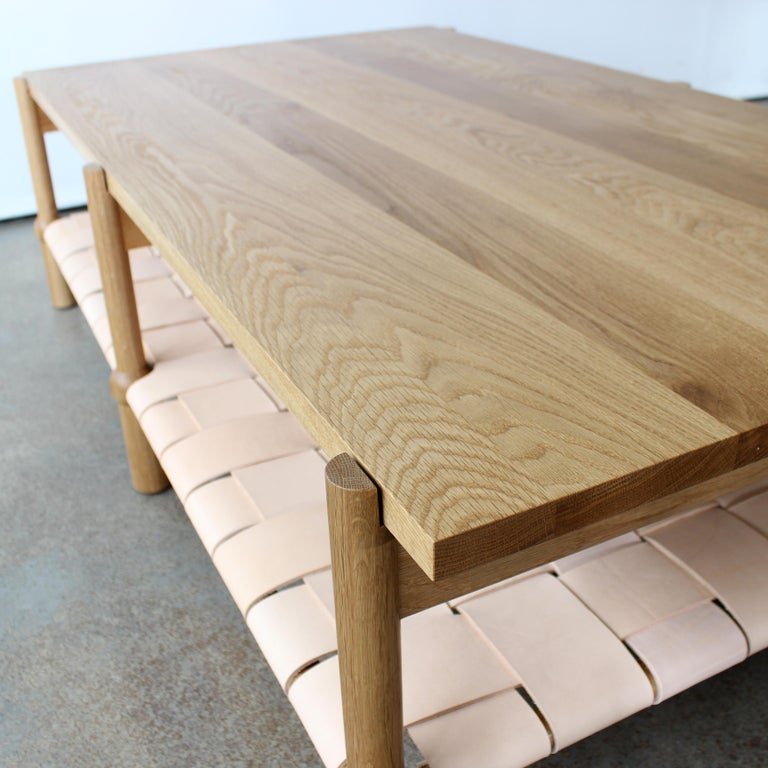Mae Solid Wood Coffee Table by Crump and Kwash In New Condition For Sale In Baltimore City, MD