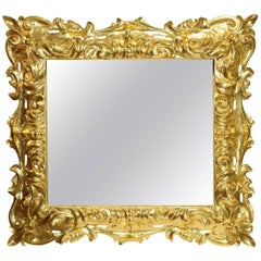 Maestoso 600 Carved Wood Mirror