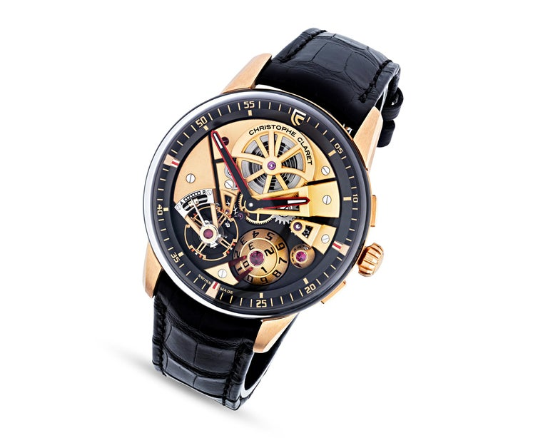 Modern Maestro Limited Edition Watch by Christophe Claret For Sale