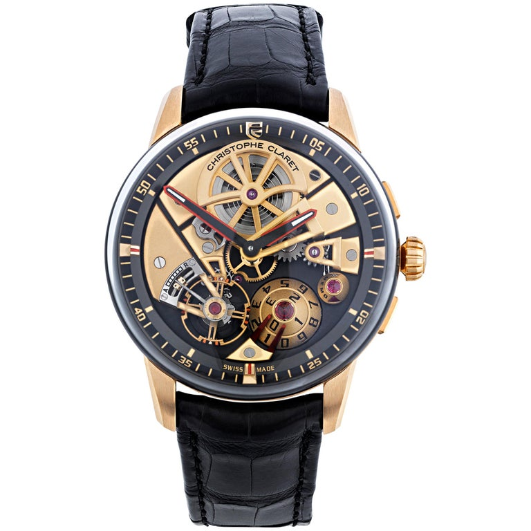 Maestro Limited Edition Watch by Christophe Claret For Sale