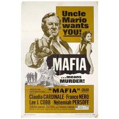 """Mafia"" 1968 U.S. One Sheet Film Poster"