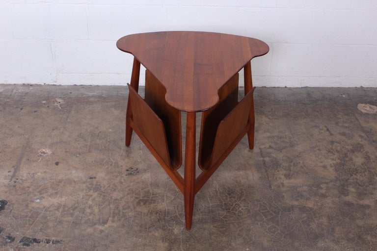 Mid-20th Century Magazine Table by Edward Wormley for Dunbar For Sale