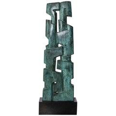 """Magda Frank Cast Bronze Sculpture, """"Pareja"""", Argentina, 2005"""
