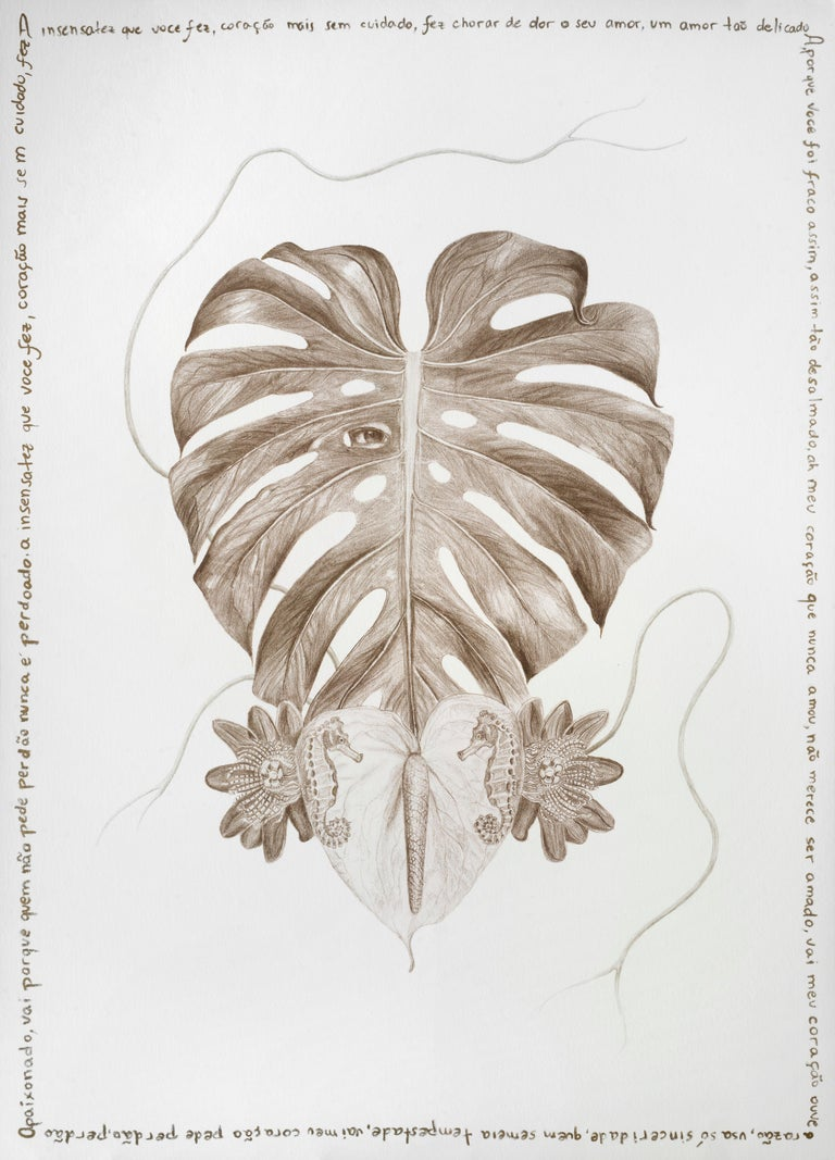 The Family Tree Complete Series. Limited edition prints intervened by the artist - Naturalistic Mixed Media Art by Magda Von Hanau