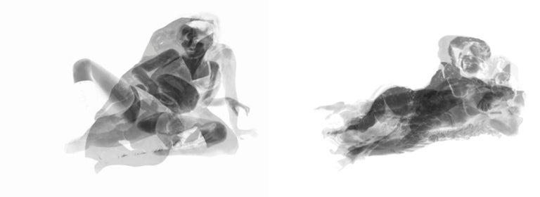 Magda Von Hanau Abstract Photograph - Div-Ine VIII, and Div-Ine IV, Set of Limited edition B&W Photographs