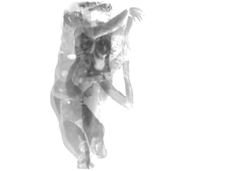 Magda Von Hanau Abstract Photograph - Div-Ine X Limited edition B&W Photograph