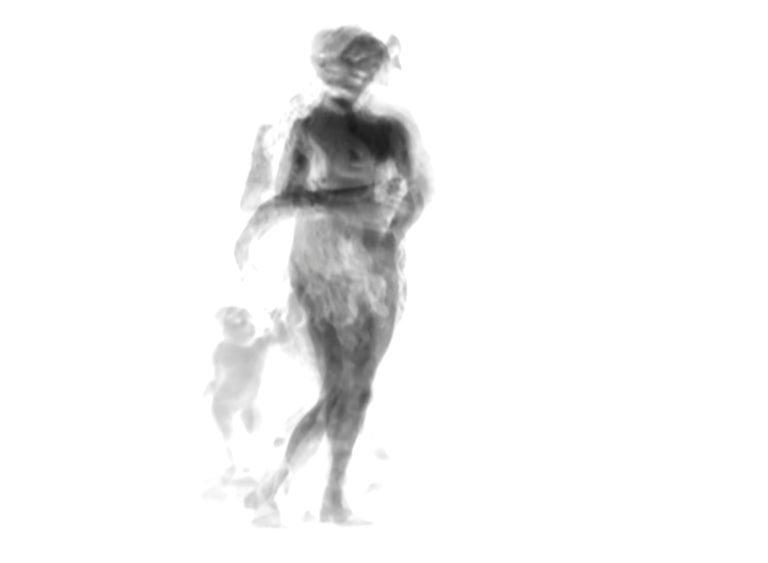 Magda Von Hanau Abstract Photograph - Div-Ine VII, Limited edition B&W Photograph.