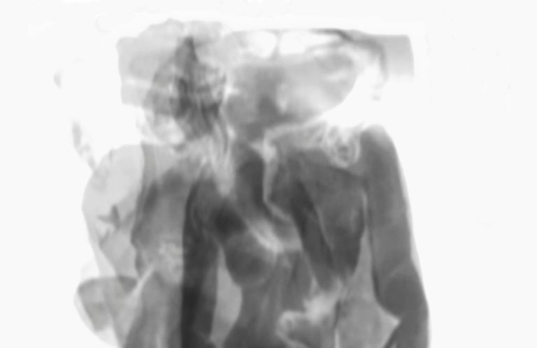 Div-Ine XI, Limited edition B&W Photograph  - Gray Abstract Photograph by Magda Von Hanau