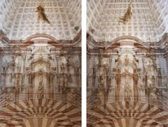 Palazzo Grimani Female Center and Male Center Diptych, Small Color Print