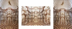 Palazzo Grimani Female Center, Front View and Male Center Triptych, Large Print