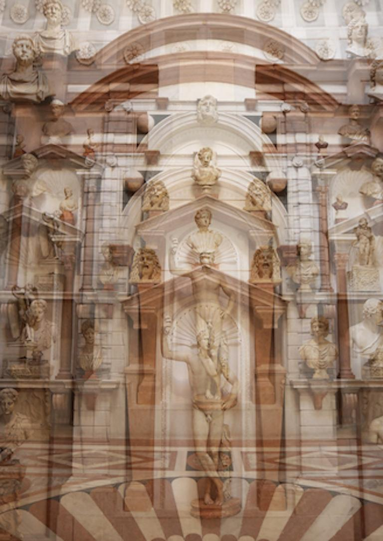 Palazzo Grimani Male Center, Large Color Photography, Archival Pigment Print For Sale 1