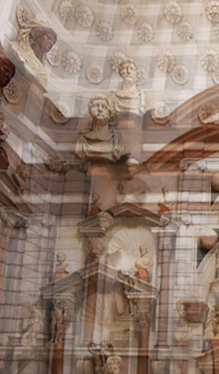Palazzo Grimani Male Center, Large Color Photography, Archival Pigment Print For Sale 2