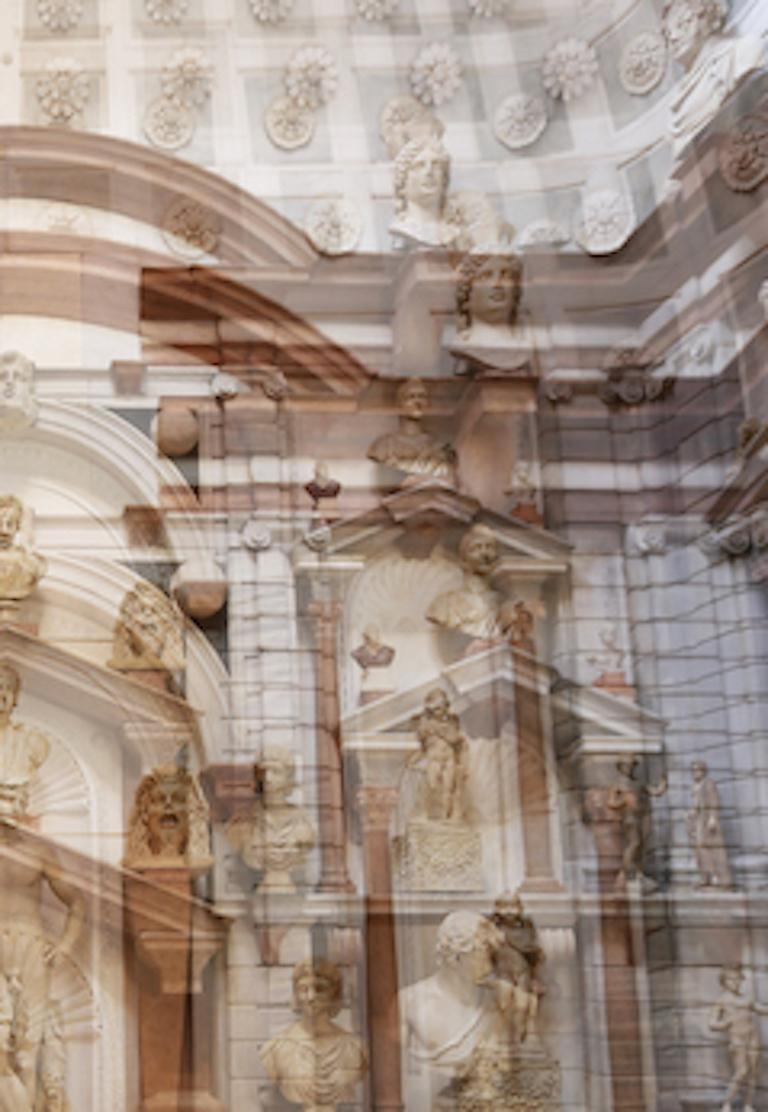 Palazzo Grimani Male Center, Large Color Photography, Archival Pigment Print For Sale 3