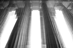 Palladio Temple, Small Black & White Archival Pigment Print