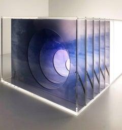 A Renda, Light Box Sculpture, 2017