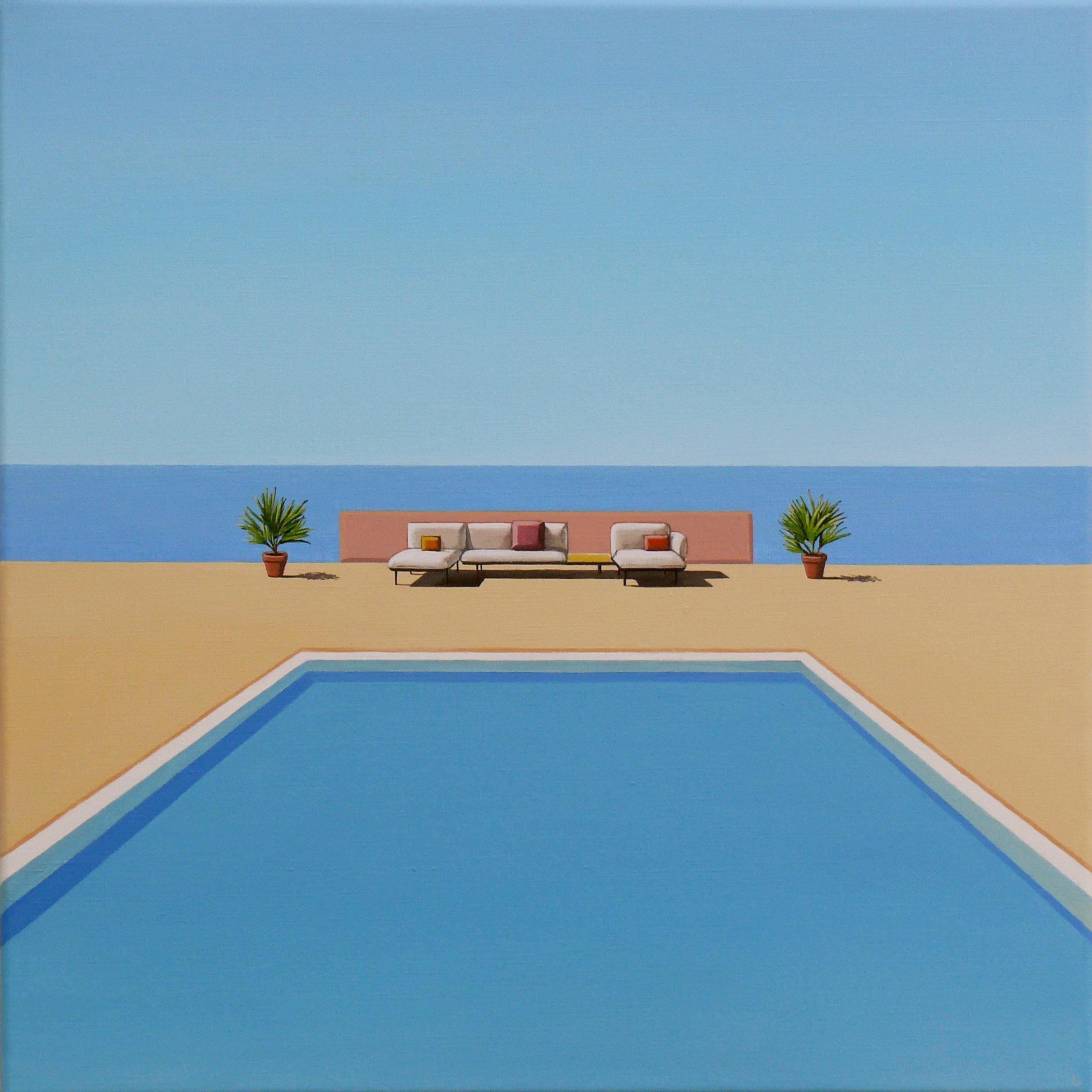 Ocean Breeze - landscape painting