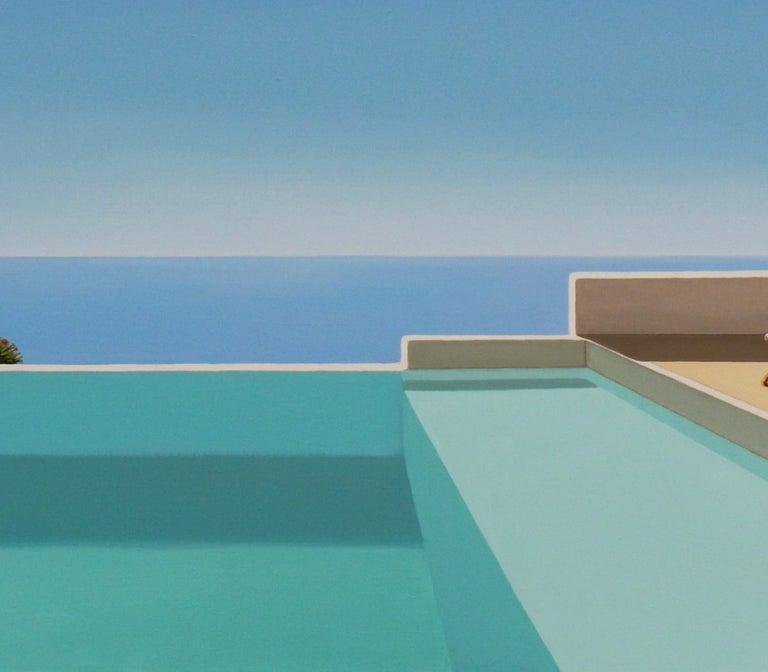 Paros - landscape painting For Sale 1