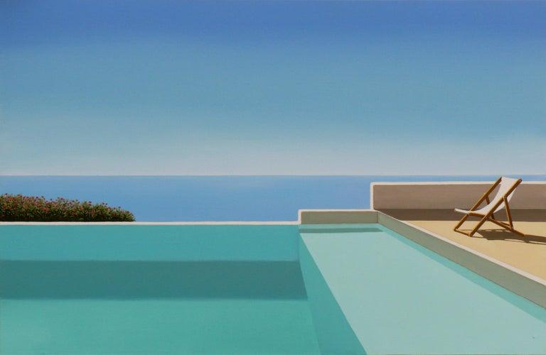 Magdalena Laskowska Landscape Painting - Paros - landscape painting