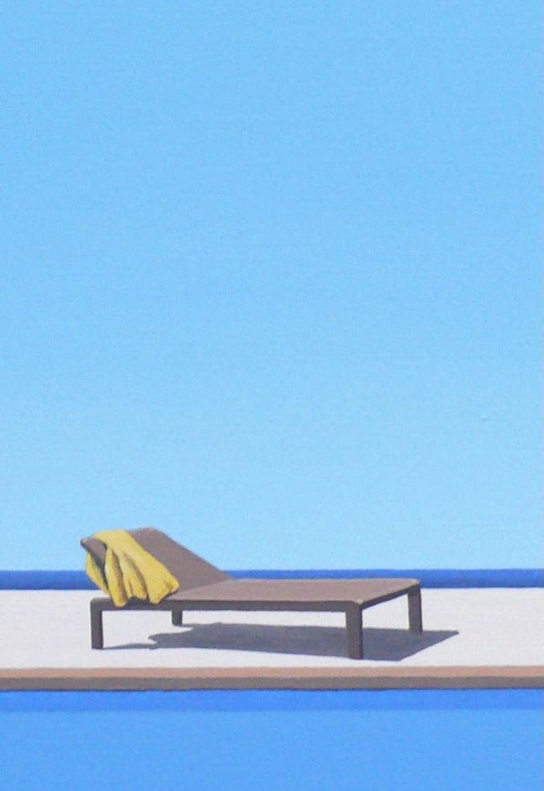 Scent of Lemons - landscape painting For Sale 2