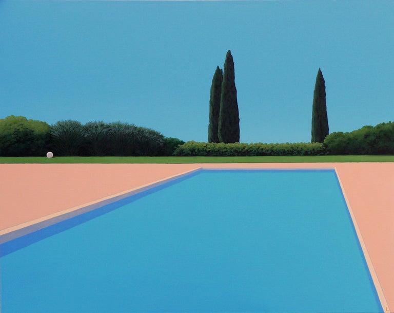 Magdalena Laskowska Landscape Painting - Serenity - landscape painting