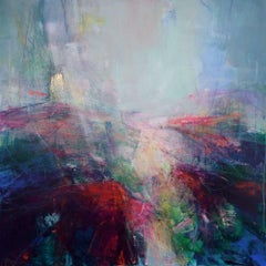 Dreams of a Thousand Islands I - abstract landscape painting Contemporary Art