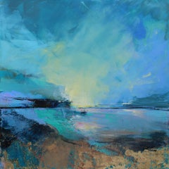 Horizon Song II Abstract Landscape painting Contemporary Art 21st Century