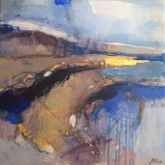 Interlude 3, Abstract Art, Contemporary Abstract Landscape Painting, Bright Art