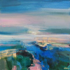 Magdalena Morey, Exploring Every Path 6, Contemporary Abstract Landscape Art