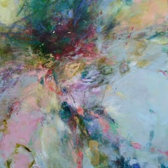 Tidelines I original abstract  landscape painting-Contemporary Art- 21st Century
