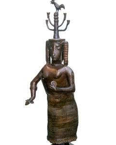 """""""El Ghazeya"""" Bronze Sculpture 67"""" x 31"""" x 28"""" inch by Maged Mikhail"""