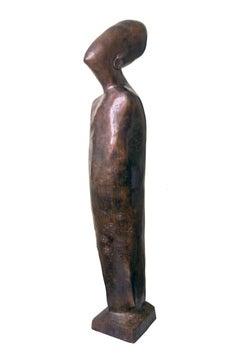 """""""El Set"""" Bronze Sculpture 71"""" x 22"""" x 22"""" inch by Maged Mikhail"""
