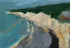 Birling gap BY MAGGIE LAPORTE-BANKS, Original Contemporary Painting, Landscape