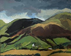 Corn Du, Brecon Beacons BY MAGGIE LAPORTE-BANKS, Original Contemporary Painting