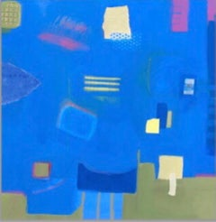 Maggie LaPorte Banks, Cereleum and Psycho Pink, Buy Original Abstract Painting