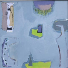 Maggie LaPorte Banks, Changing Blues to Greys, Abstract Art, Affordable Art