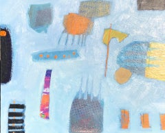 Maggie LaPorte Banks, Evening @ the Funfair, Abstract Art, Affordable Art