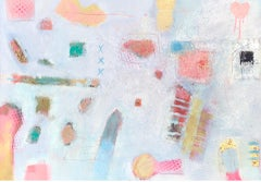 Maggie LaPorte Banks, Go Gently, Original Abstract Painting, Affordable Art