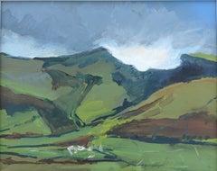 Maggie Laporte Banks Pen y fan 31st October, Contemporary Landscape Painting
