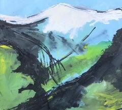 Maggie LaPorte Banks, Pen-y-fan no. 4, Original Abstract Art, Affordable Art
